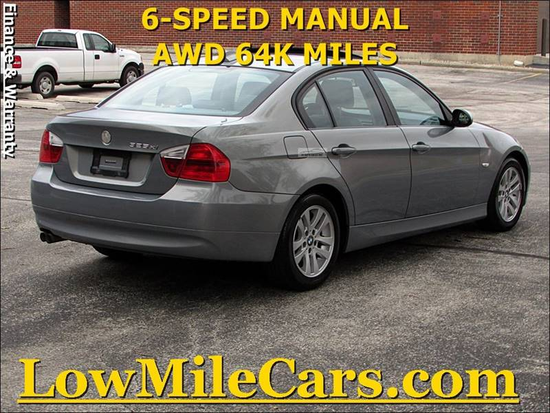 Bmw Series AWD Xi Dr Sedan In Burr Ridge IL A Auto Sales - 2006 bmw 325xi manual
