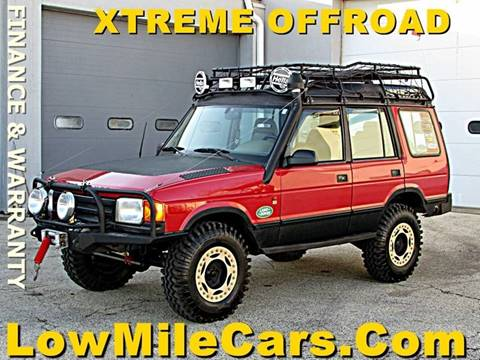 1996 Land Rover Discovery for sale at A1 Auto Sales in Burr Ridge IL