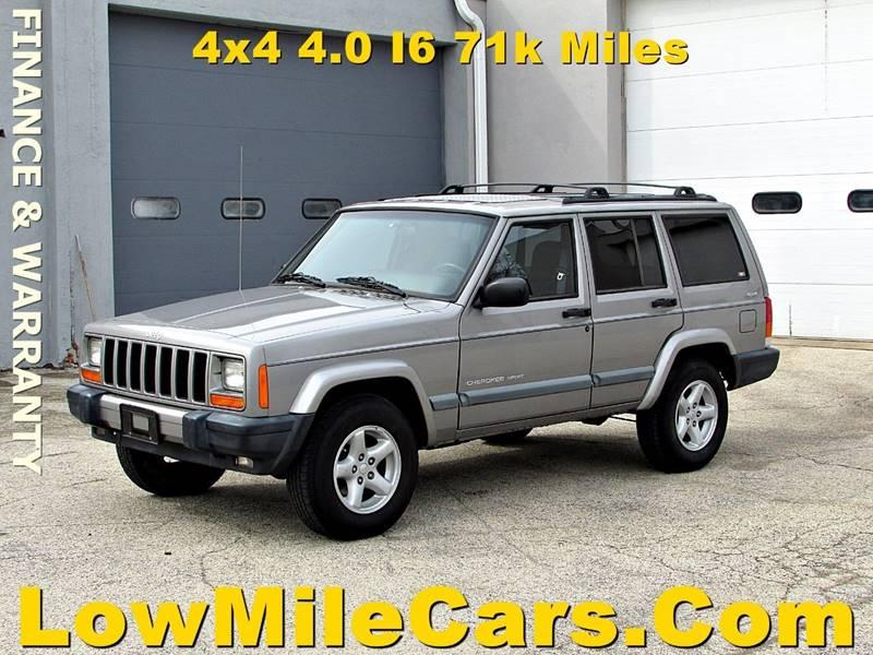 2001 Jeep Cherokee Sport 4WD 4dr SUV   Burr Ridge IL