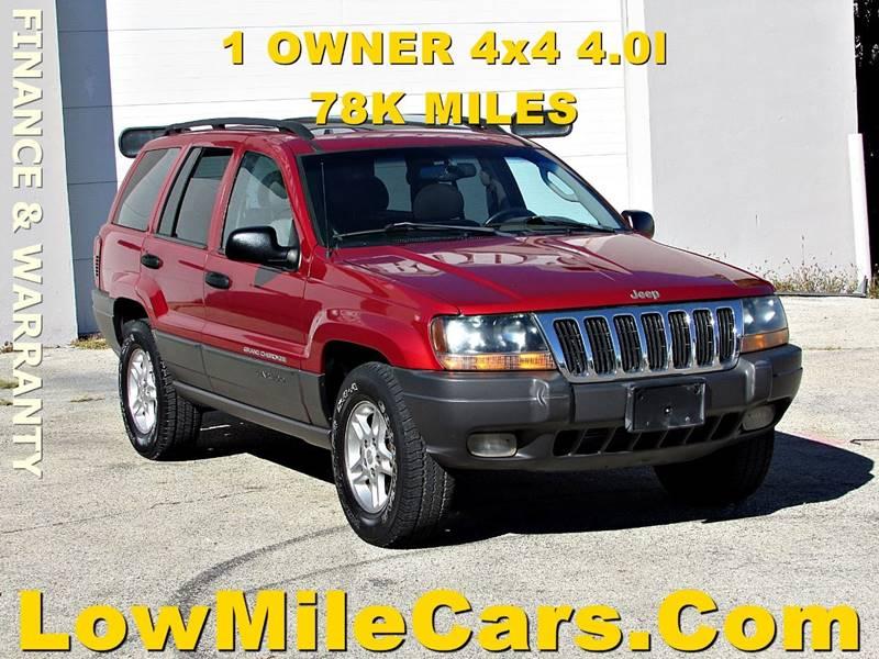 2002 Jeep Grand Cherokee 4dr Laredo 4WD SUV   Burr Ridge IL