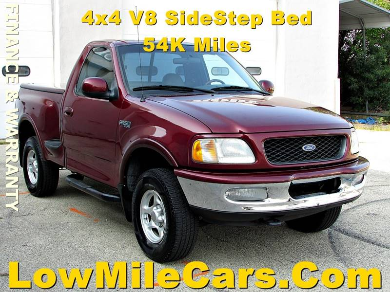 1997 ford f 150 2dr xlt 4wd standard cab stepside sb in burr ridge il a1 auto sales. Black Bedroom Furniture Sets. Home Design Ideas