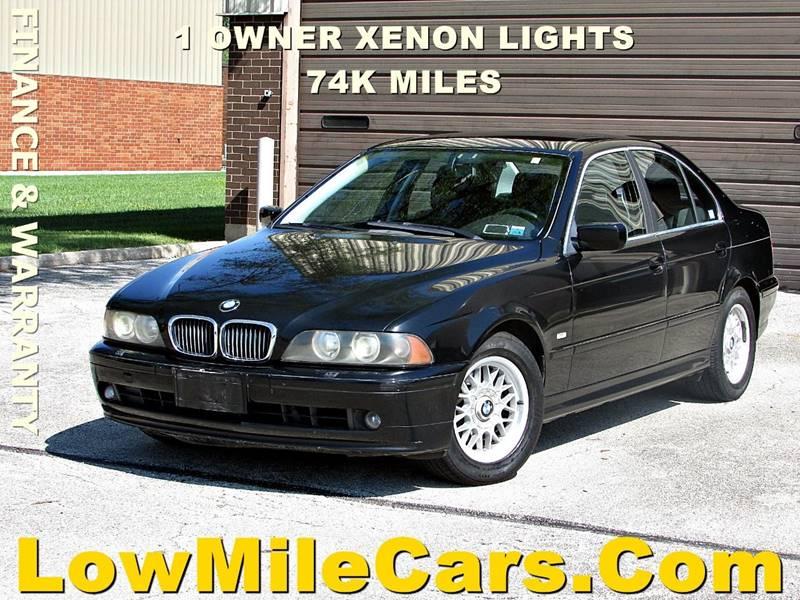 2001 BMW 525I >> 2001 Bmw 5 Series 525i 4dr Sedan In Burr Ridge Il A1 Auto