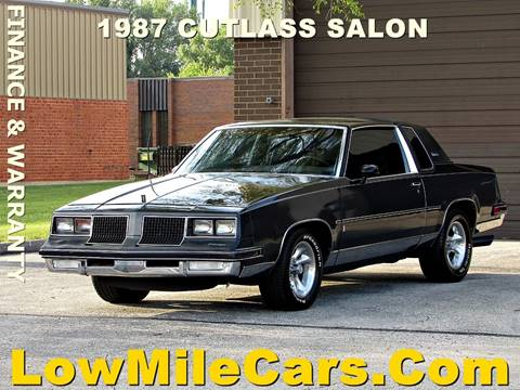 1987 Oldsmobile Cutlass Salon for sale in Burr Ridge, IL