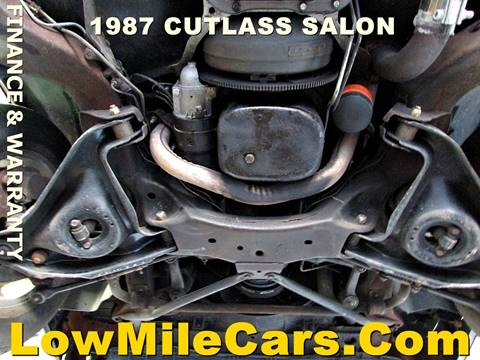 1987 Oldsmobile Cutlass Salon 2dr Coupe In Burr Ridge IL