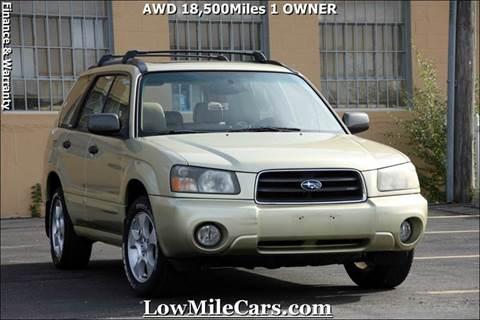 2004 Subaru Forester for sale at A1 Auto Sales in Burr Ridge IL