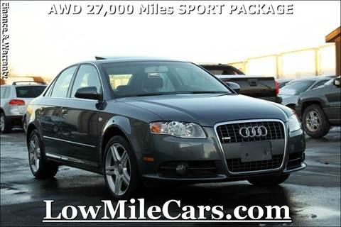 2008 Audi A4 for sale at A1 Auto Sales in Burr Ridge IL