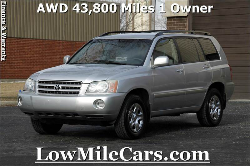 Toyota Highlander Awd Cylinder Suv In Burr Ridge Il