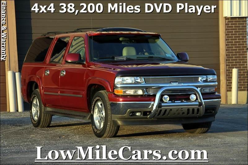 2005 Chevrolet Suburban for sale at A1 Auto Sales in Burr Ridge IL