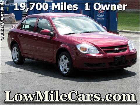 2007 Chevrolet Cobalt for sale at A1 Auto Sales in Burr Ridge IL