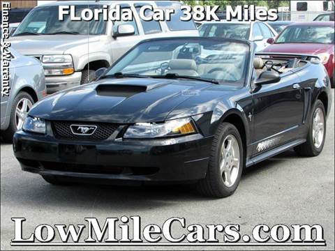 2003 Ford Mustang for sale at A1 Auto Sales in Burr Ridge IL