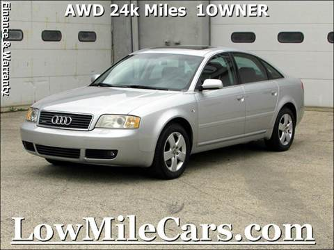 2003 Audi A6 for sale at A1 Auto Sales in Burr Ridge IL