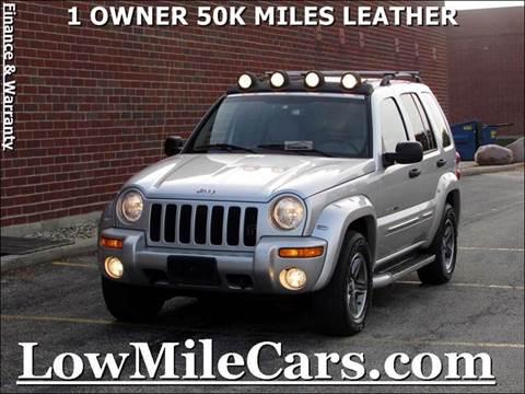 2003 Jeep Liberty for sale at A1 Auto Sales in Burr Ridge IL