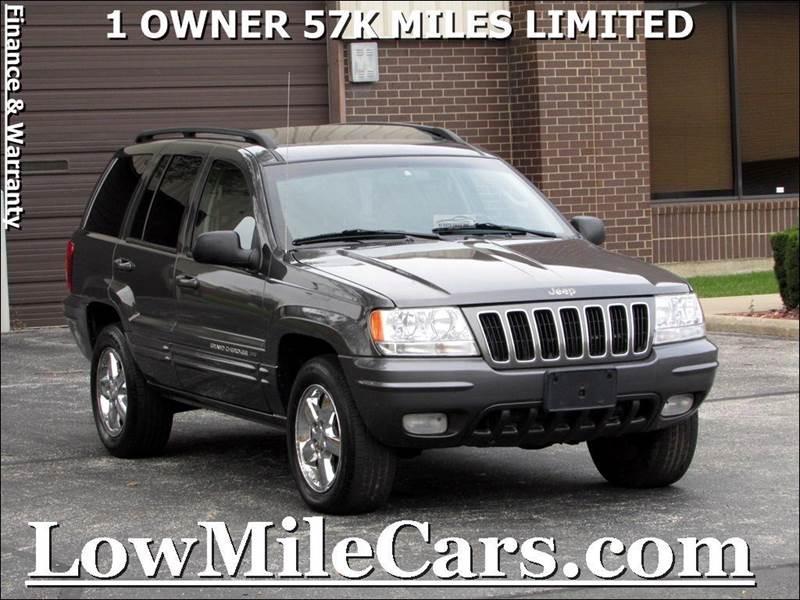 2003 Jeep Grand Cherokee Limited 4WD 4dr SUV W/HO V8   Burr Ridge IL