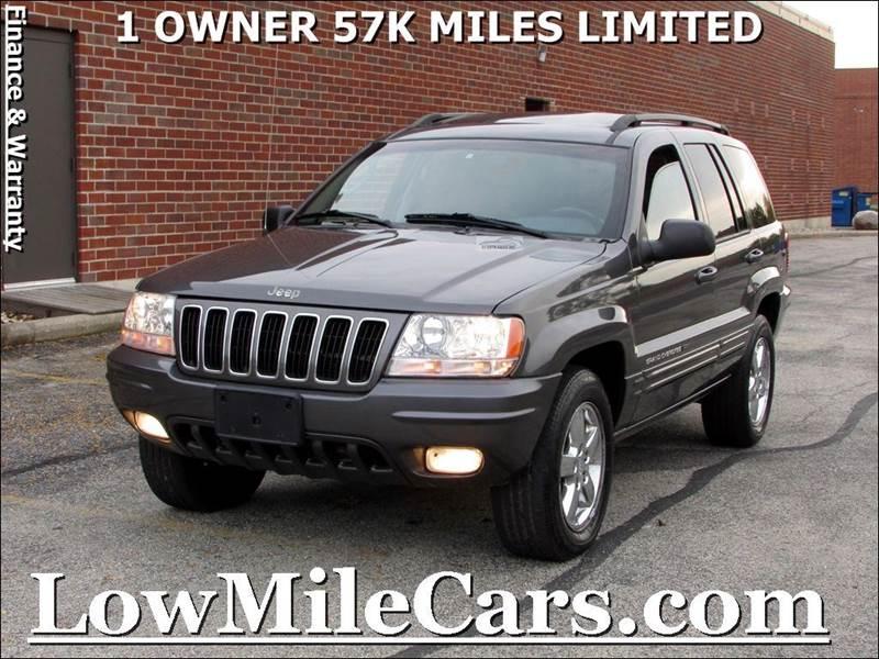2003 jeep grand cherokee limited 4wd 4dr suv w ho v8 in burr ridge il a1 auto sales. Black Bedroom Furniture Sets. Home Design Ideas