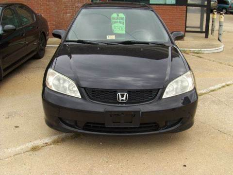 2005 Honda Civic for sale at RODRIGUEZ MOTORS LLC in Fredericksburg VA