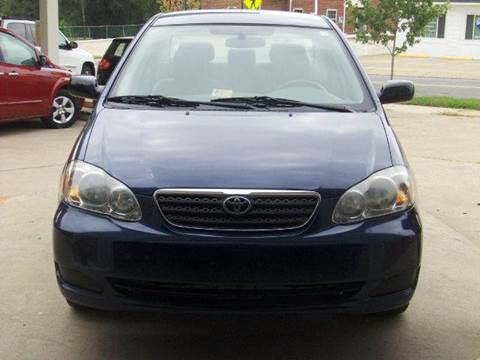 2007 Toyota Corolla for sale at RODRIGUEZ MOTORS LLC in Fredericksburg VA