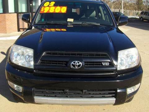 2003 Toyota 4Runner for sale at RODRIGUEZ MOTORS LLC in Fredericksburg VA
