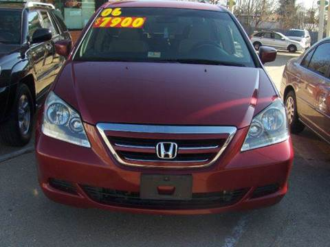 2006 Honda Odyssey for sale at RODRIGUEZ MOTORS LLC in Fredericksburg VA