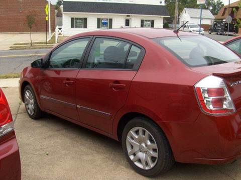 2012 Nissan Sentra for sale at RODRIGUEZ MOTORS LLC in Fredericksburg VA