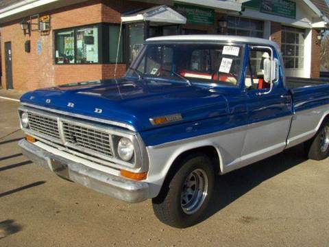 1970 Ford F-100 for sale at RODRIGUEZ MOTORS LLC in Fredericksburg VA