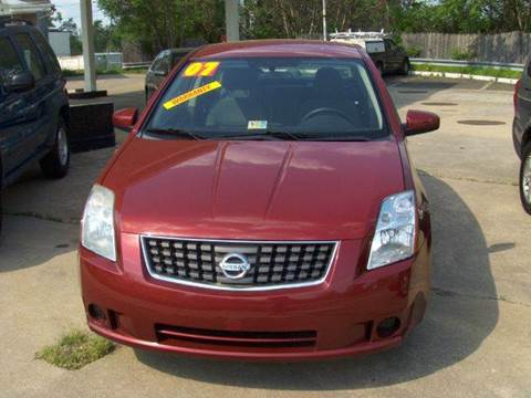 2007 Nissan Sentra for sale at RODRIGUEZ MOTORS LLC in Fredericksburg VA