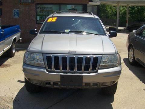 2002 Jeep Grand Cherokee for sale at RODRIGUEZ MOTORS LLC in Fredericksburg VA