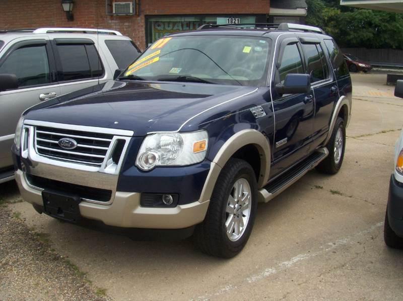 2007 Ford Explorer for sale at RODRIGUEZ MOTORS LLC in Fredericksburg VA