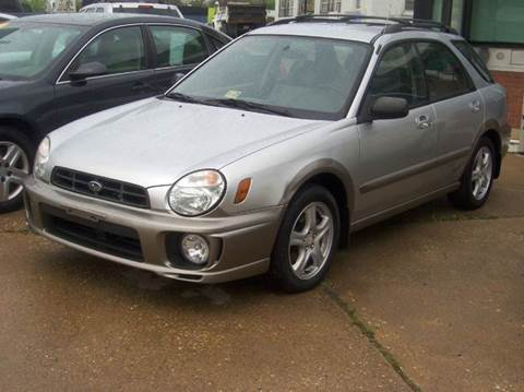 2003 Subaru Impreza for sale at RODRIGUEZ MOTORS LLC in Fredericksburg VA