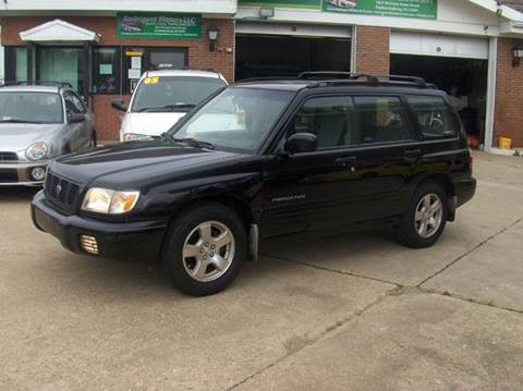 2002 Subaru Forester for sale at RODRIGUEZ MOTORS LLC in Fredericksburg VA