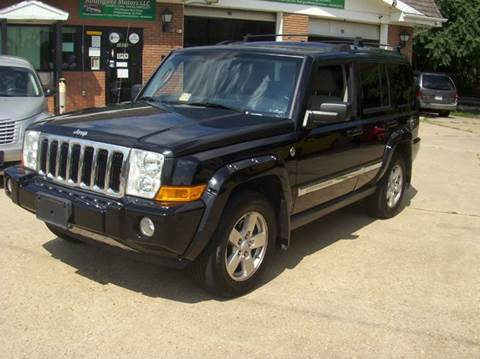 2007 Jeep Commander for sale at RODRIGUEZ MOTORS LLC in Fredericksburg VA
