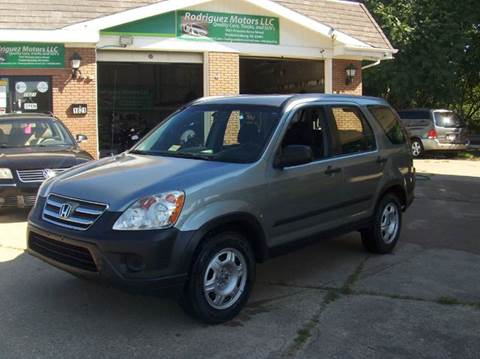 2006 Honda CR-V for sale at RODRIGUEZ MOTORS LLC in Fredericksburg VA