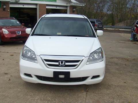 2007 Honda Odyssey for sale at RODRIGUEZ MOTORS LLC in Fredericksburg VA