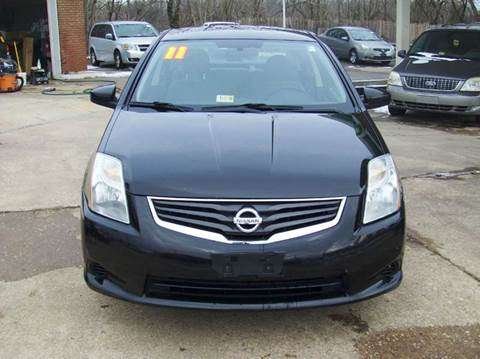 2011 Nissan Sentra for sale at RODRIGUEZ MOTORS LLC in Fredericksburg VA
