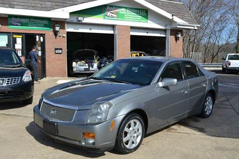 2005 Cadillac CTS for sale at RODRIGUEZ MOTORS LLC in Fredericksburg VA