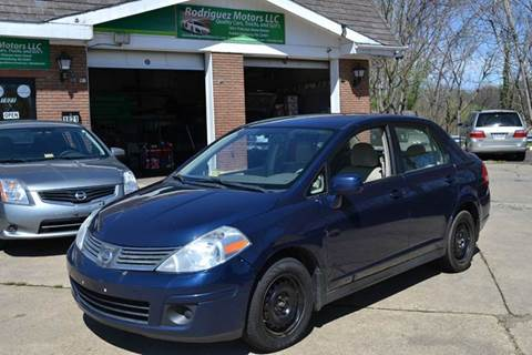 2009 Nissan Versa for sale at RODRIGUEZ MOTORS LLC in Fredericksburg VA