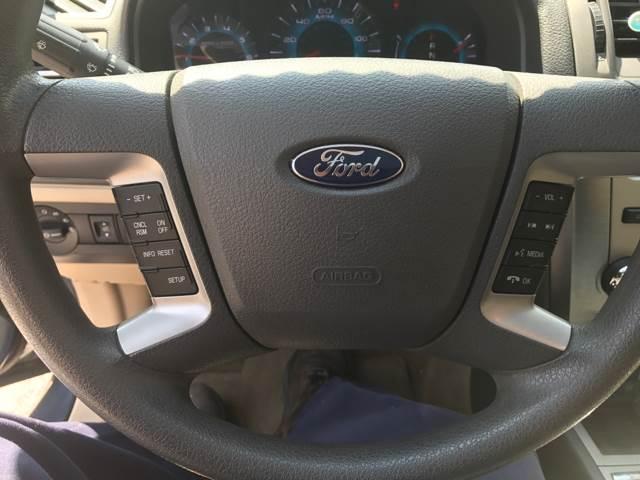 2012 Ford Fusion SE 4dr Sedan - Barre VT