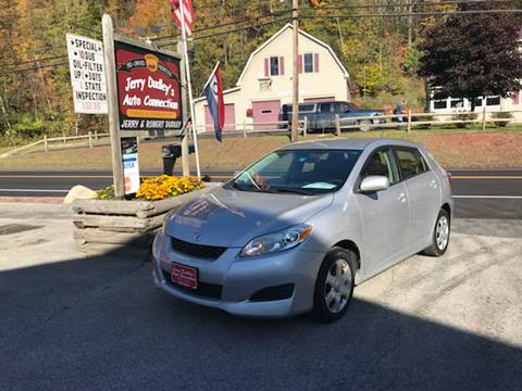 2009 Toyota Matrix for sale at Jerry Dudley's Auto Connection in Barre VT
