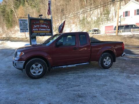 2007 Nissan Frontier for sale at Jerry Dudley's Auto Connection in Barre VT
