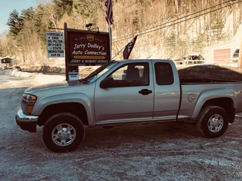 2008 GMC Canyon for sale at Jerry Dudley's Auto Connection in Barre VT