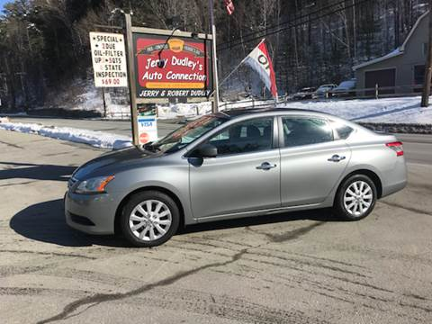 2013 Nissan Sentra for sale at Jerry Dudley's Auto Connection in Barre VT