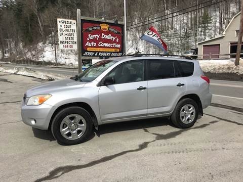 2006 Toyota RAV4 for sale at Jerry Dudley's Auto Connection in Barre VT