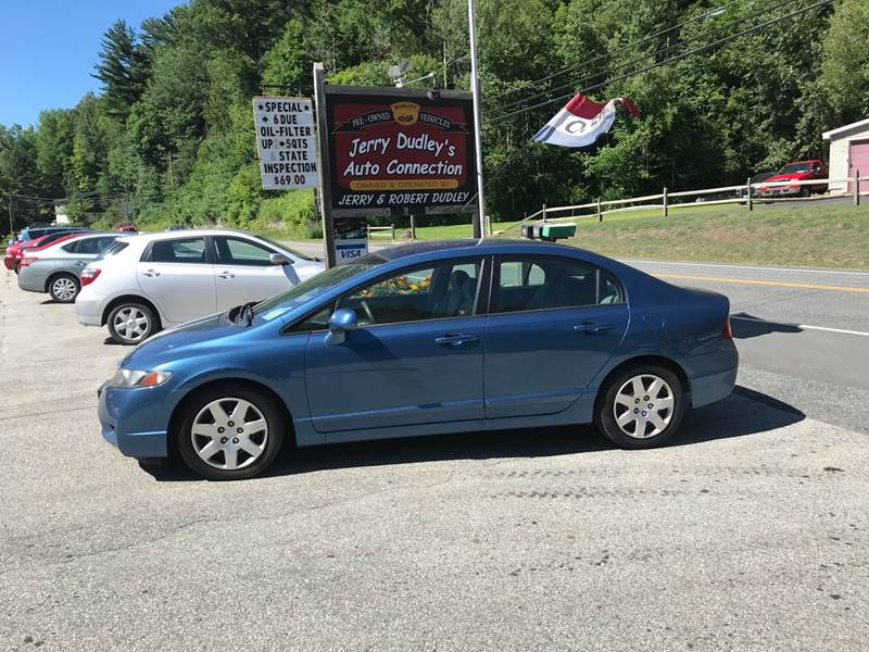 2010 Honda Civic For Sale At Jerry Dudleyu0027s Auto Connection In Barre VT