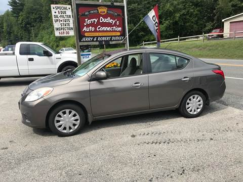 2012 Nissan Versa for sale at Jerry Dudley's Auto Connection in Barre VT
