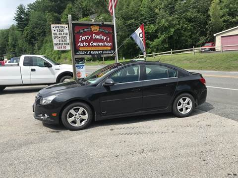 2011 Chevrolet Cruze for sale at Jerry Dudley's Auto Connection in Barre VT