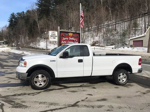 2004 Ford F-150 for sale at Jerry Dudley's Auto Connection in Barre VT