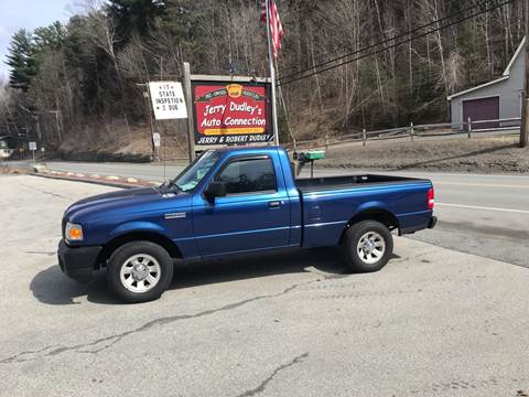 2011 Ford Ranger for sale at Jerry Dudley's Auto Connection in Barre VT