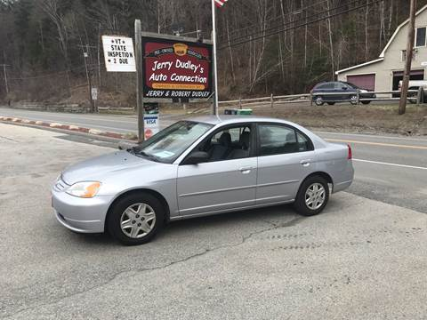 2003 Honda Civic for sale at Jerry Dudley's Auto Connection in Barre VT