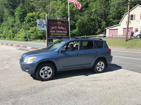 2007 Toyota RAV4 for sale at Jerry Dudley's Auto Connection in Barre VT