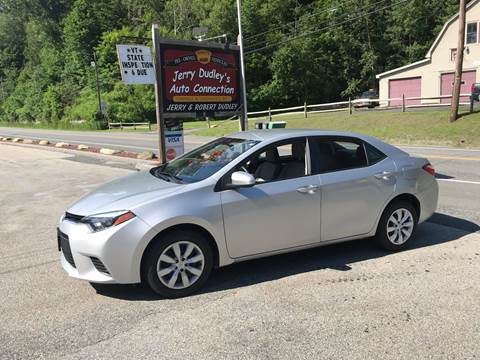 2014 Toyota Corolla for sale at Jerry Dudley's Auto Connection in Barre VT