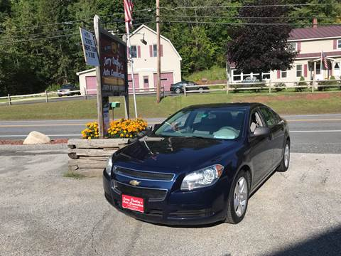 2011 Chevrolet Malibu for sale at Jerry Dudley's Auto Connection in Barre VT